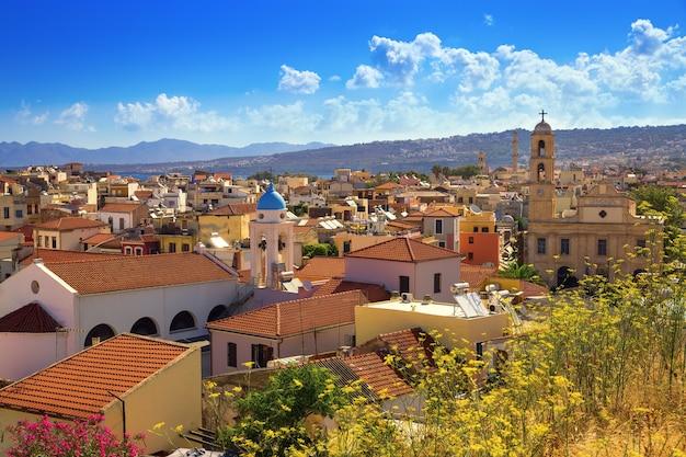 Stad chania, in griekenland