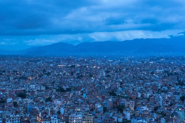 Stad van katmandu