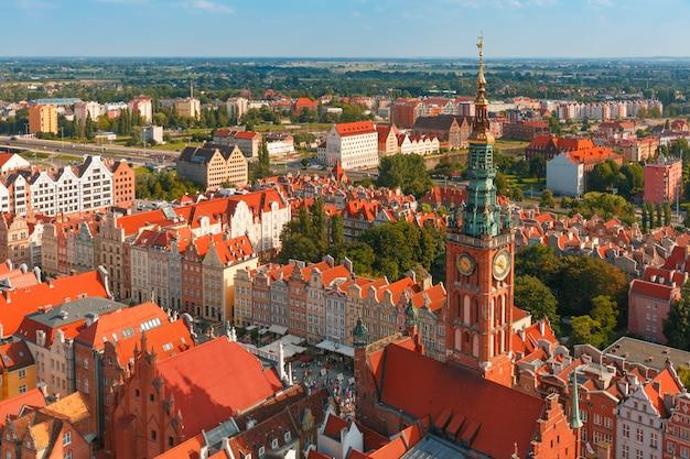 Stadhuis in gdansk, polen
