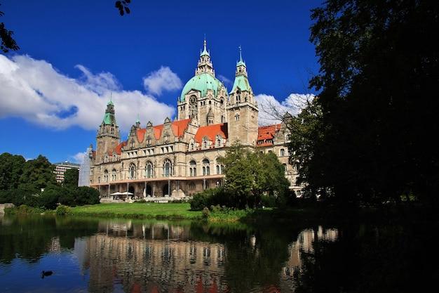 Stadhuis in hannover, duitsland