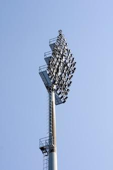 Stadium lichten op