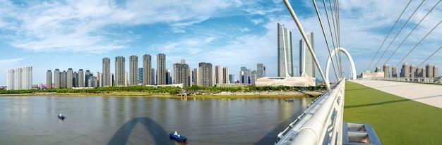 Stadsgezicht van nanjing, china