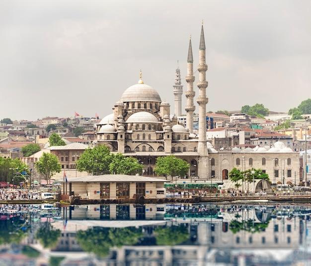 Stadslandschap van istanbul, turkije