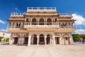 Stadspaleis in Jaipur