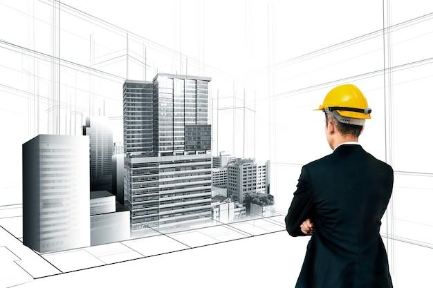 Stadsplanning en vastgoedontwikkeling.