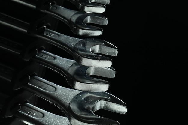 Stalen sleutels gereedschap