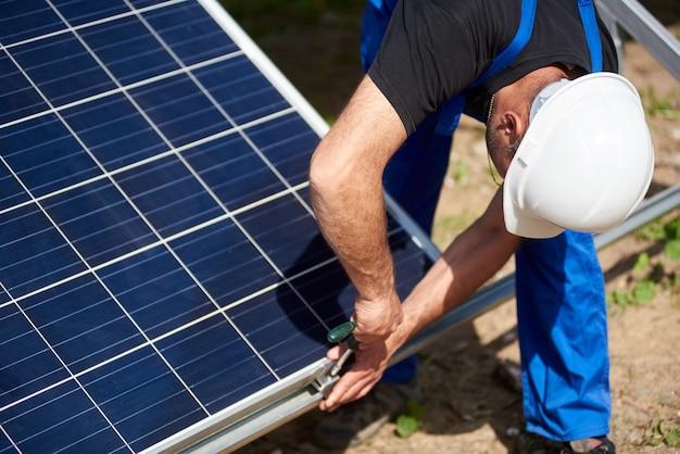 Stand-alone installatie van zonnepaneelsysteem, hernieuwbare groene energie