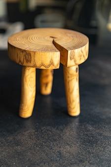Stand voor keukengerei keuken snijplank natuurlijk hout kleine kruk huisbenodigdheden ruimte
