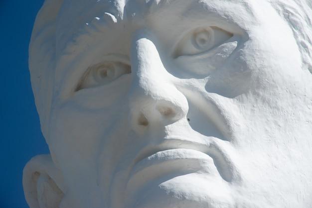 Standbeeld van padre cicero juazeiro do norte ceara brazilië