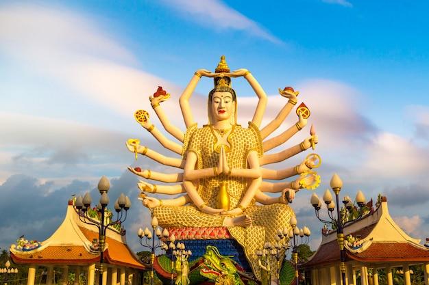 Standbeeld van shiva in samui, thailand