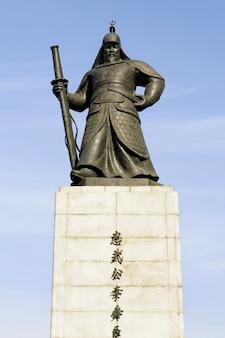 Standbeeld van yi soon shin