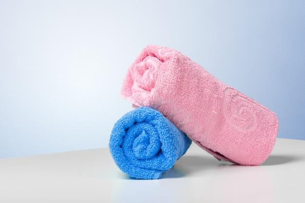 Stapel badhanddoeken