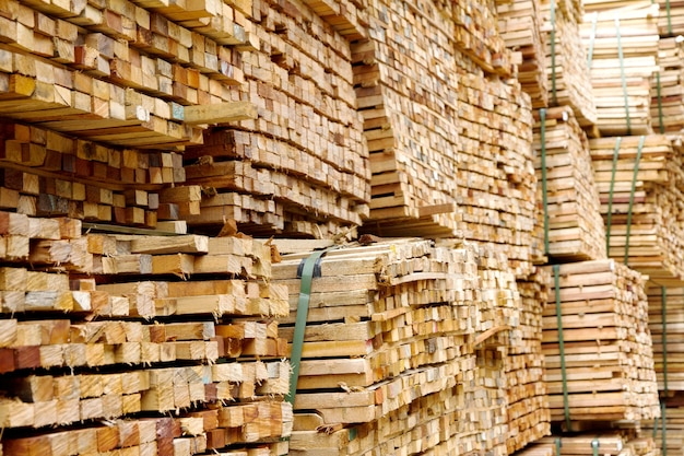Stapel hout hout