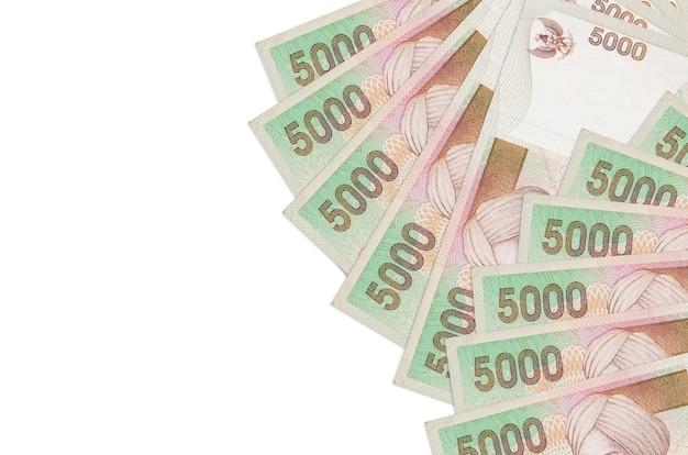 Stapel rekeningen van de indonesische roepia
