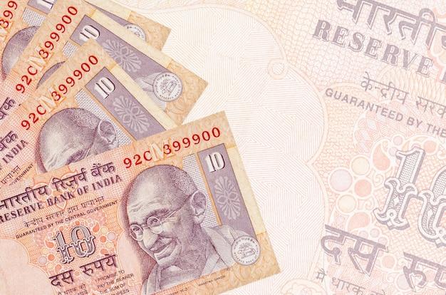 Stapel rekeningen van indiase roepies