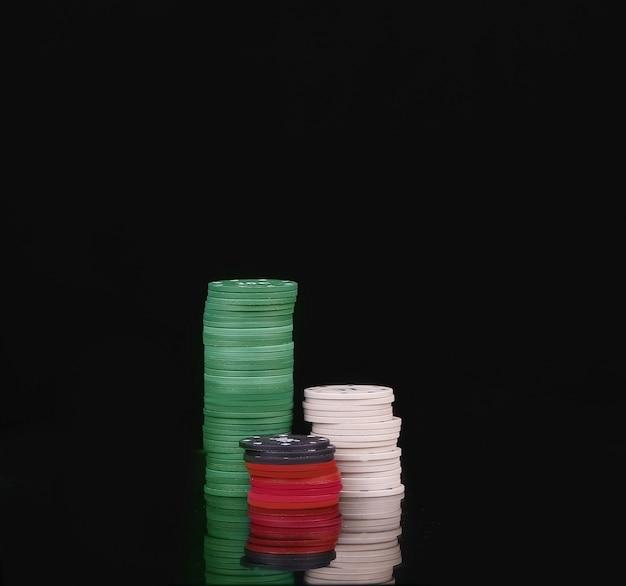 Stapels pokerfiches