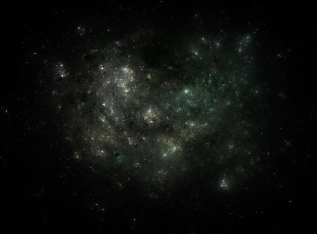 Star veld achtergrond. sterrige kosmische ruimtetextuur als achtergrond.