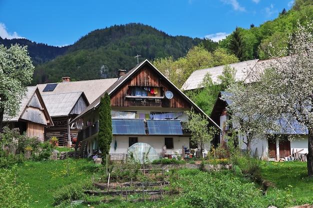 Stara fuzina in de alpen van slovenië
