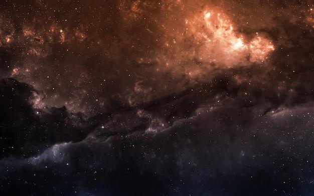 Starfield in de diepe ruimte