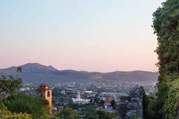 Stari bar landschap, montenegro