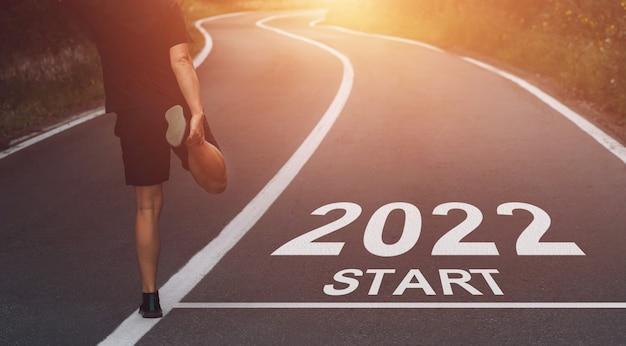 Start het nieuwe jaar 2022 met nieuwe doelen en plannen