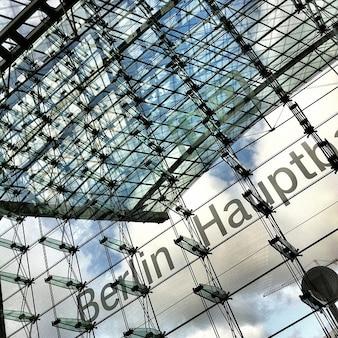 Station gevel berlin central glas
