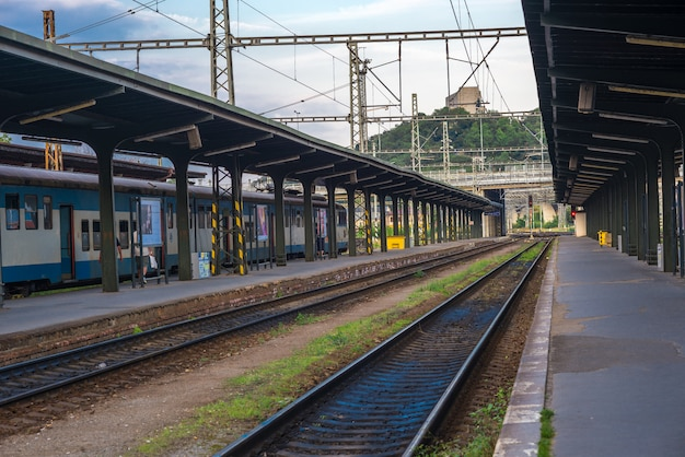 Station in praag