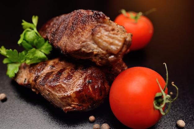 Steak van beef sous vide