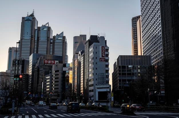 Stedelijk landschap japan