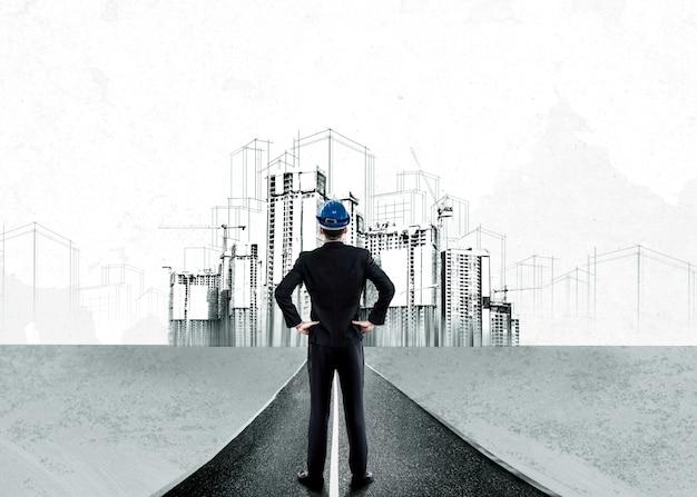 Stedelijke civiele planning en vastgoedontwikkeling.