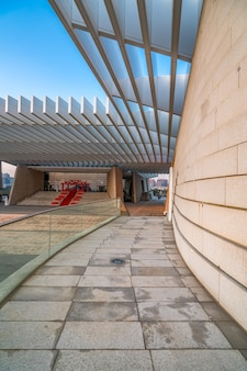 Stedelijke moderne architectuur landschap-achtergrond