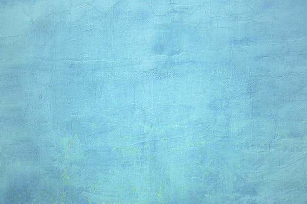 Stedelijke muur, het betonnen oppervlak is blauw, de kleur van de cementtextuur