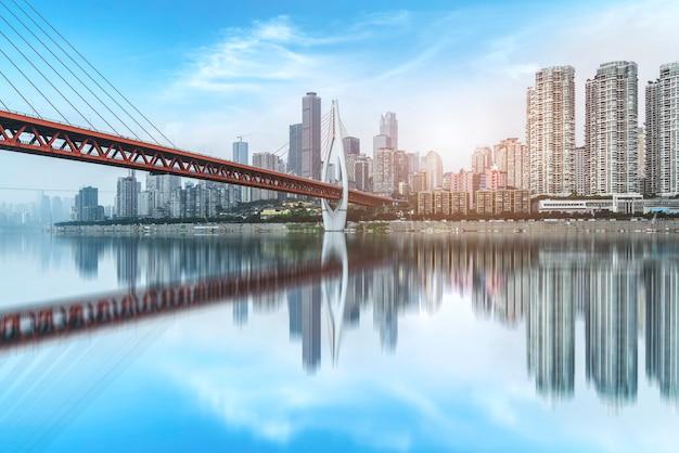 Stedelijke skyline van chongqing