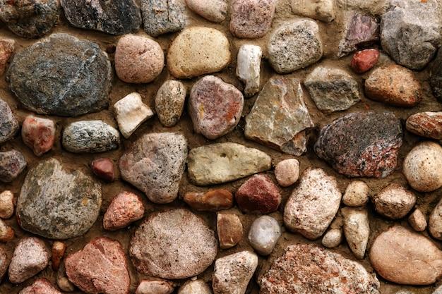 Steen achtergrondtextuurkeien