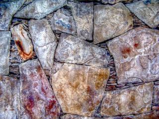 Steen textuur, bruin