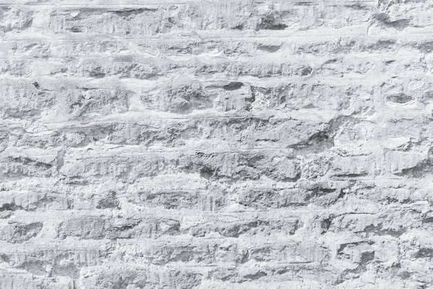 Steenachtige betonnen bakstenen muur textuur
