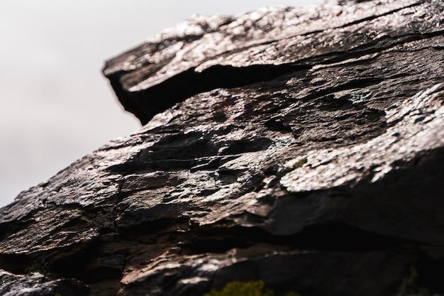 Steenstextuur en achtergrond dichte omhooggaand. rock textuur