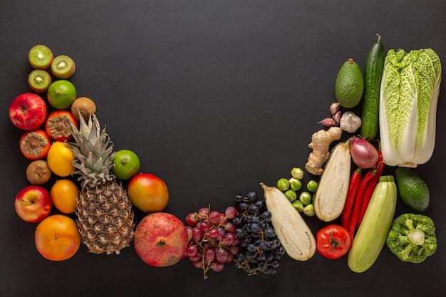 Stel groenten en fruit gezond dieet
