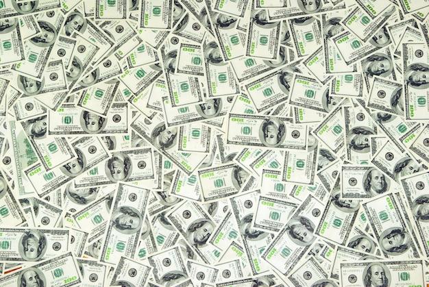 Stelletje geld rekeningen