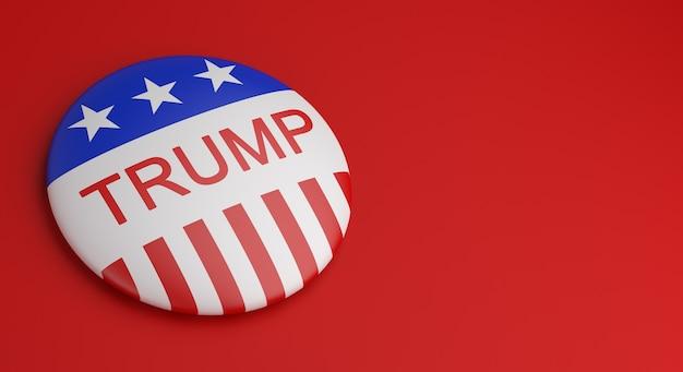 Stem knop badges trump