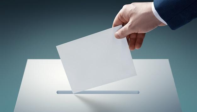Stem over democratische verkiezingen, referendum. maak de juiste keuze.