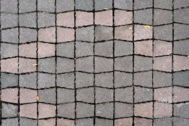 Stenen blok bestrating