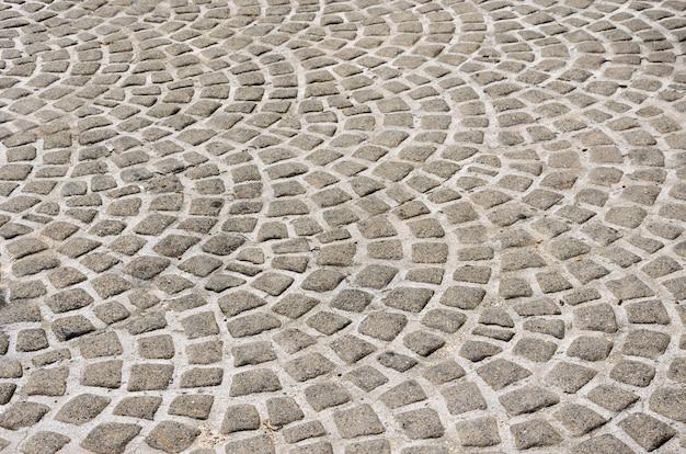 Stenen blok tegelvloer