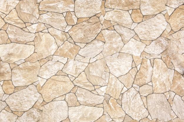 Stenen blok weg bestrating, straatsteen