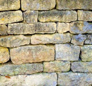 Stenen muur, stonewall