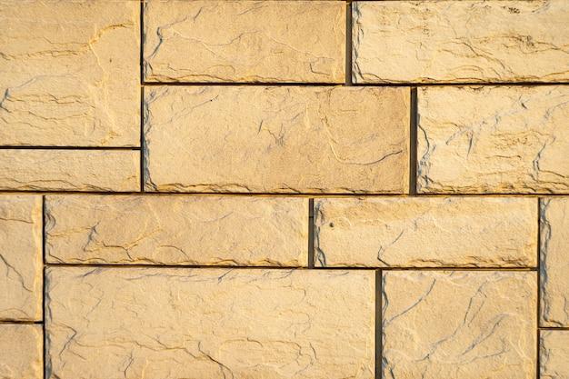 Stenen muur textuur natuurlijke kleur