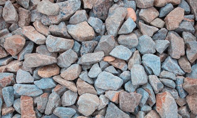 Stenen pad achtergrond hierboven