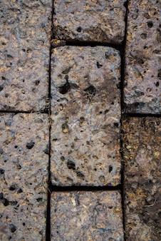 Stenen pad achtergrond