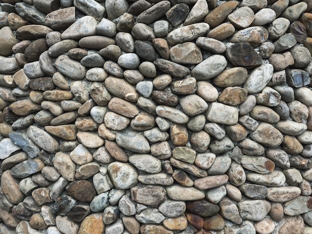 Stenen rotsen op een muur textuur