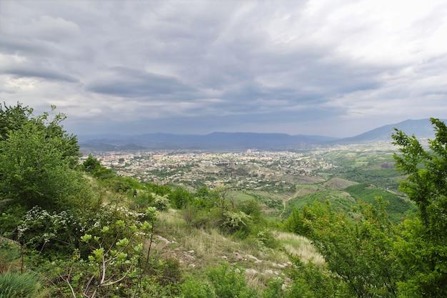 Stepanakertstad in nagorno - karabach, de kaukasus `